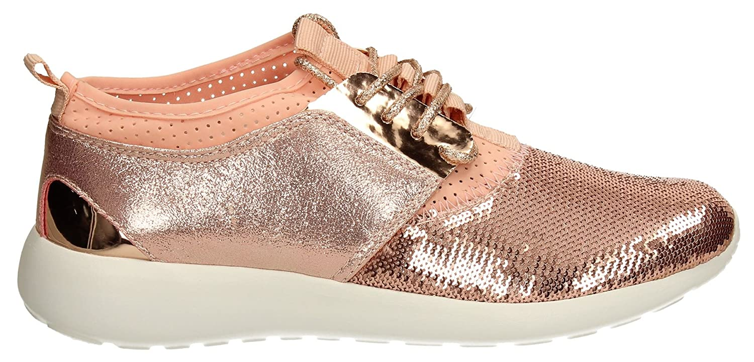 c7a3180ea Betsy Womens Running Athletic Low Top Trainers Ladies Rose Gold Pink  Fashion Sneakers SWANKYSWANS 38  Amazon.co.uk  Shoes   Bags