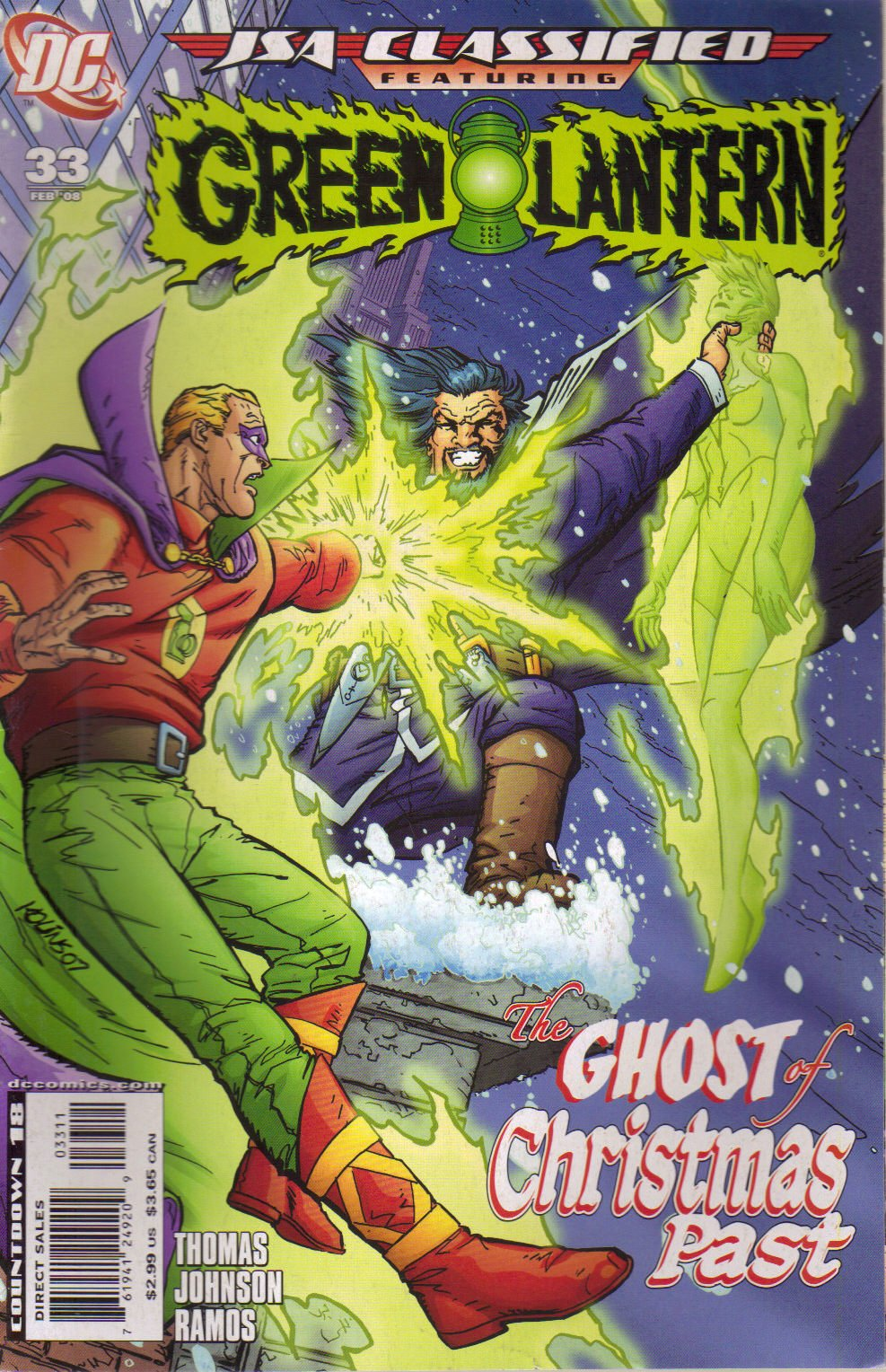JSA Classified #33 Featuring Green Lantern (the gosts of christms past) PDF ePub ebook