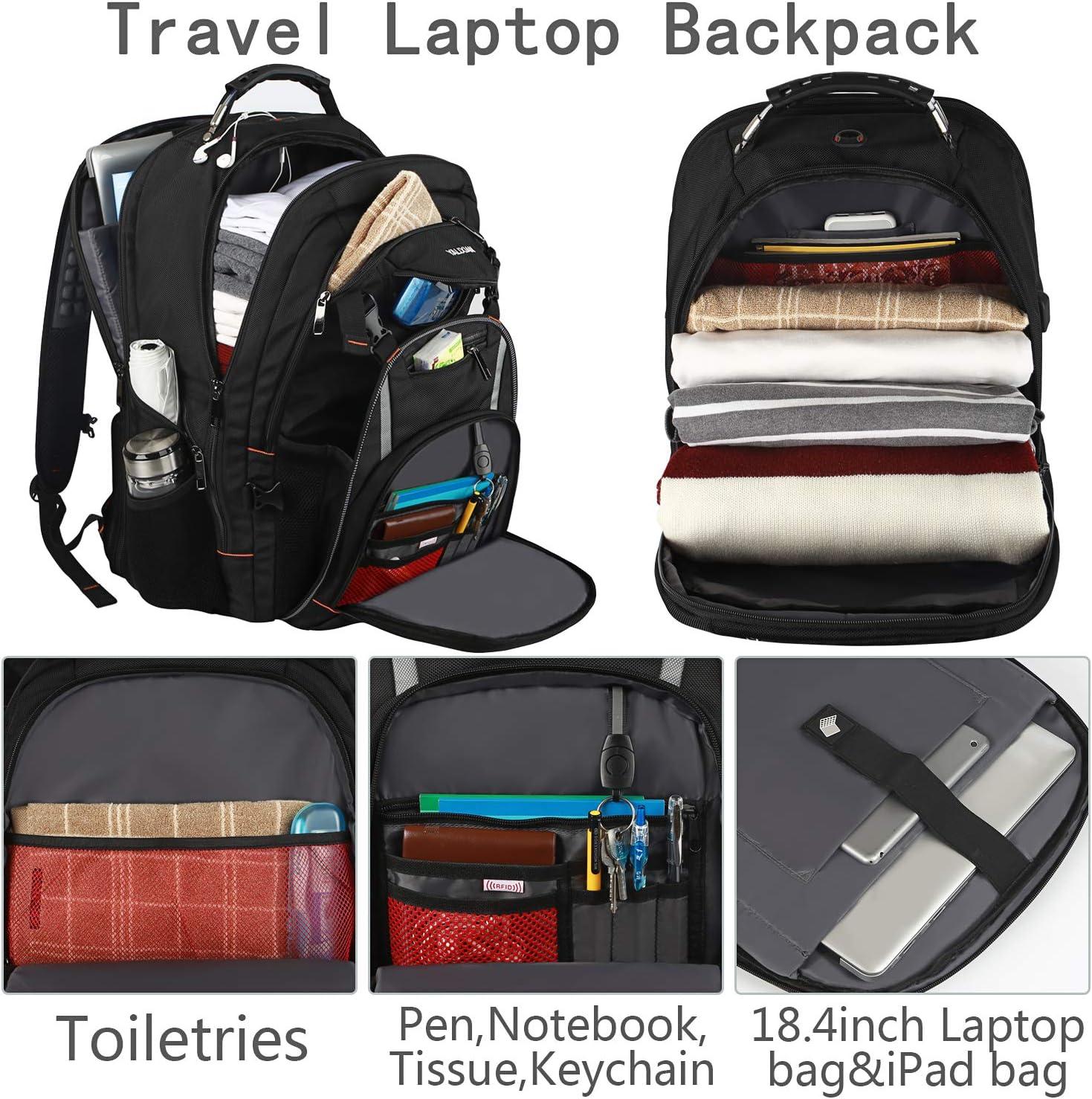 DEZIRO Night Polar Bear Catching Stars Travel Backpack Large Bag School Multifunctional Backpack for Women/&Men 19x14x7 Inch
