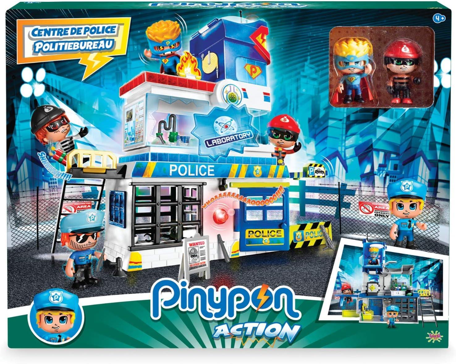 Giochi Preziosi Pinypon Action - Estación de policía con 2 ...