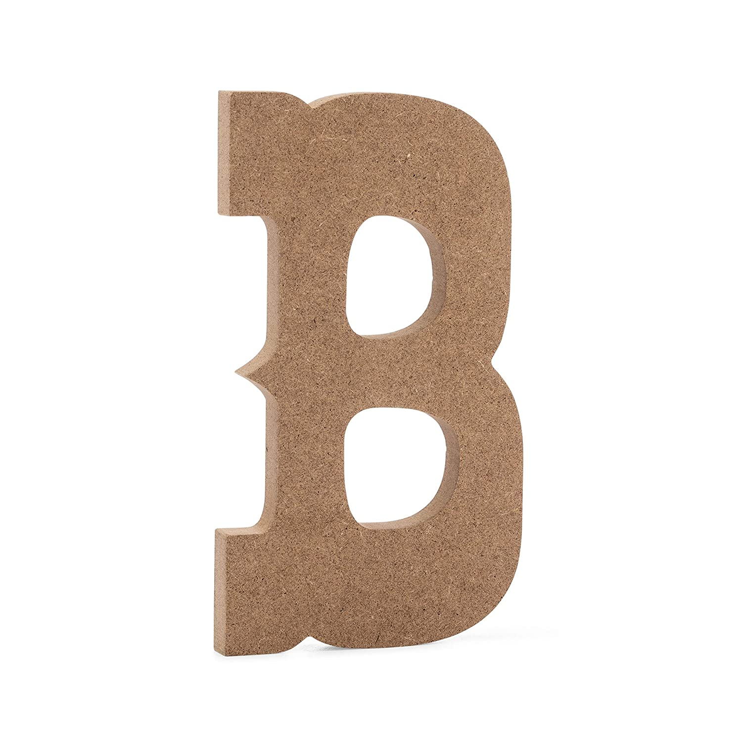 """6"""" Western Wooden Letter B - Joepaul'S Crafts Premium Mdf Wood Wall Letters (6 Inch, B)"""