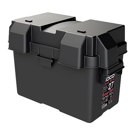 1e4d358801bbe Amazon.com  NOCO Black HM327BKS Group 27 Snap-Top Box for Automotive ...