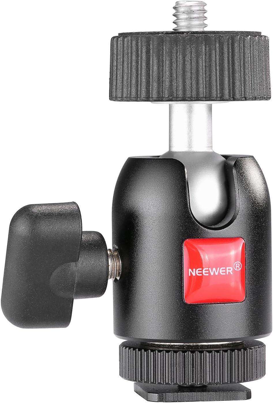 Neewer 10088100 1 4 Zoll Schraube Stativ Mini Kugel Kamera