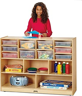 product image for Jonti-Craft 0726JC Super-Sized Combo Mobile Storage Unit with Assorted Colored Bins