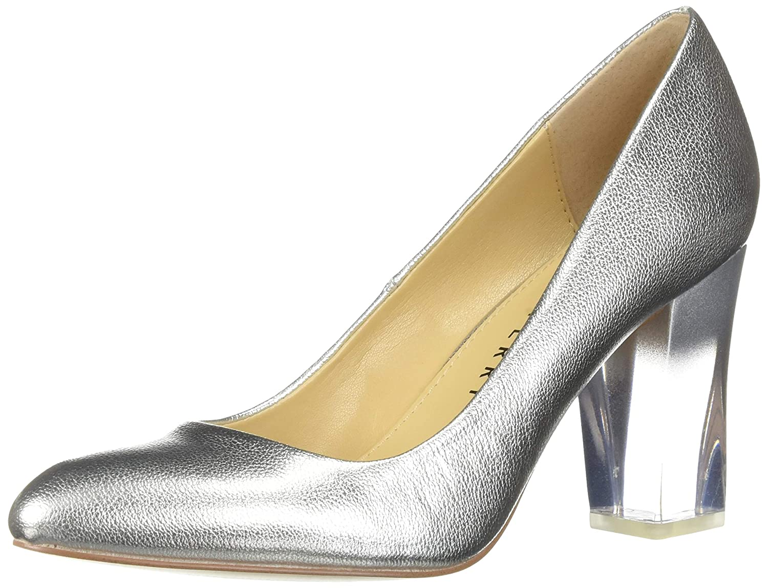 Silver Katy Perry Womens The A.w Middie-Smooth Metallic Pump