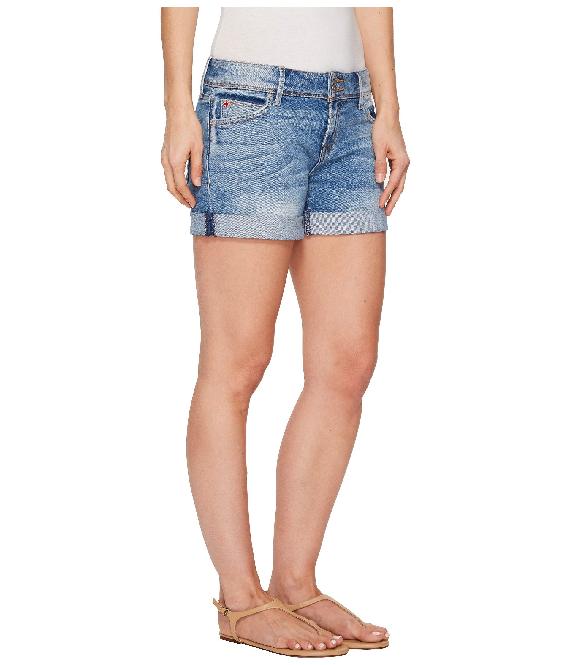 Hudson Jeans Women's Croxley Mid Thigh Flap Pocket Short, Rolling Hills, 31 by Hudson Jeans (Image #5)