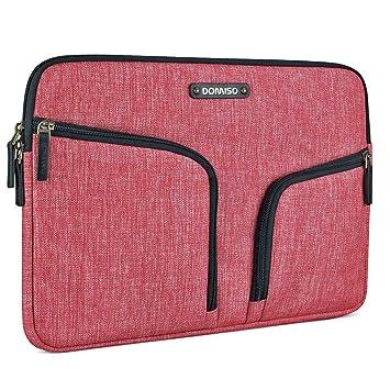tout neuf 7364e 2ab51 DOMISO 12,5-13 Pouces Imperméable Housse Sac en Toile de Protection  Ordinateur Portable Sacoche pour Chromebook/Tablette / 13