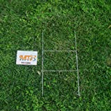 MTB H Frame Wire Stakes 20 x10-inch (Pkg of 50) 9ga