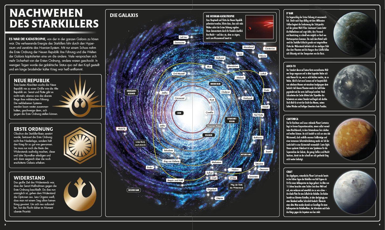 Star Wars Karte.Star Wars Tm Die Letzten Jedi Die Illustrierte Enzyklopädie