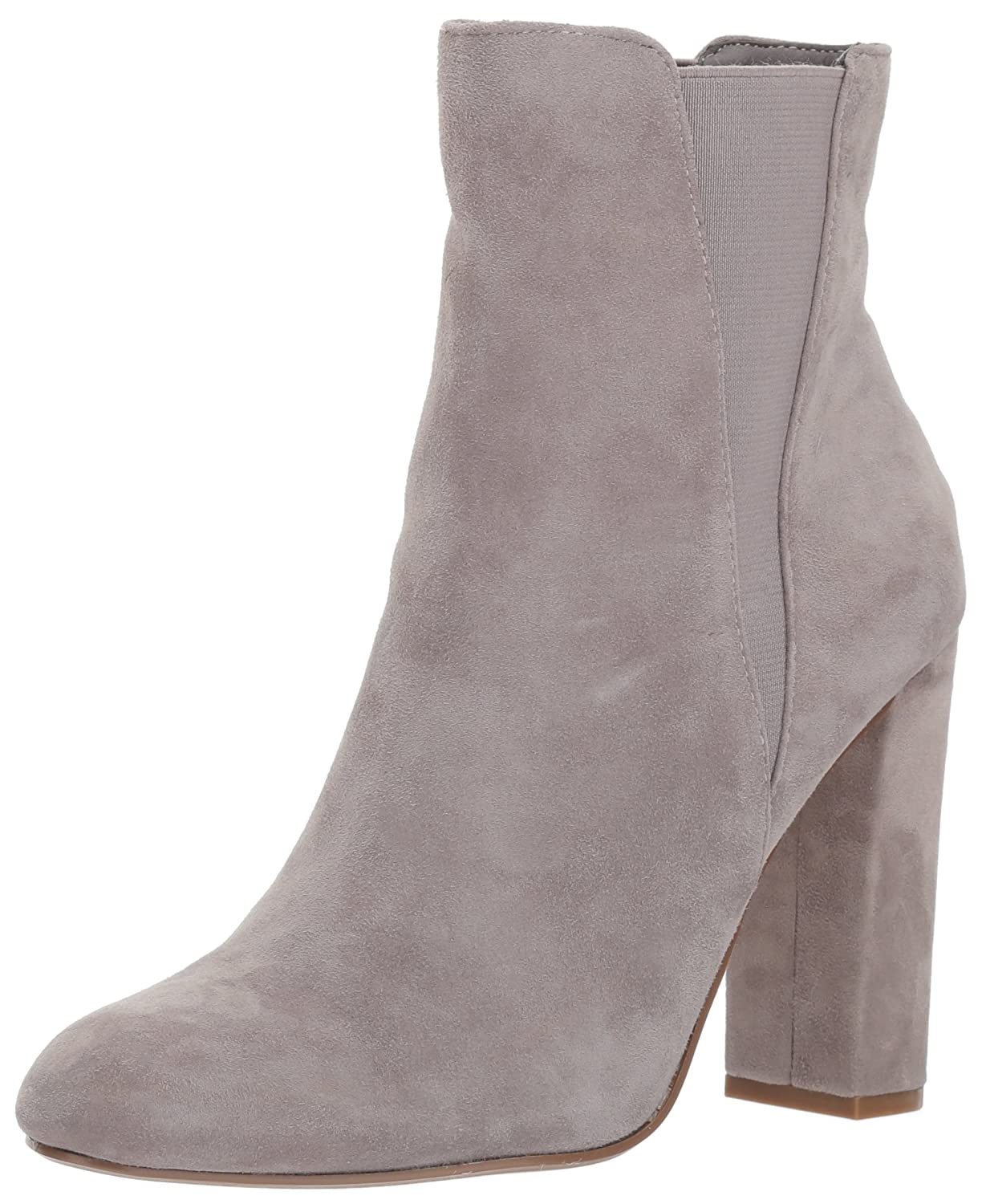 Steve Madden Women's Effect Ankle Boot B06XH3NFMH 7 B(M) US|Grey Suede