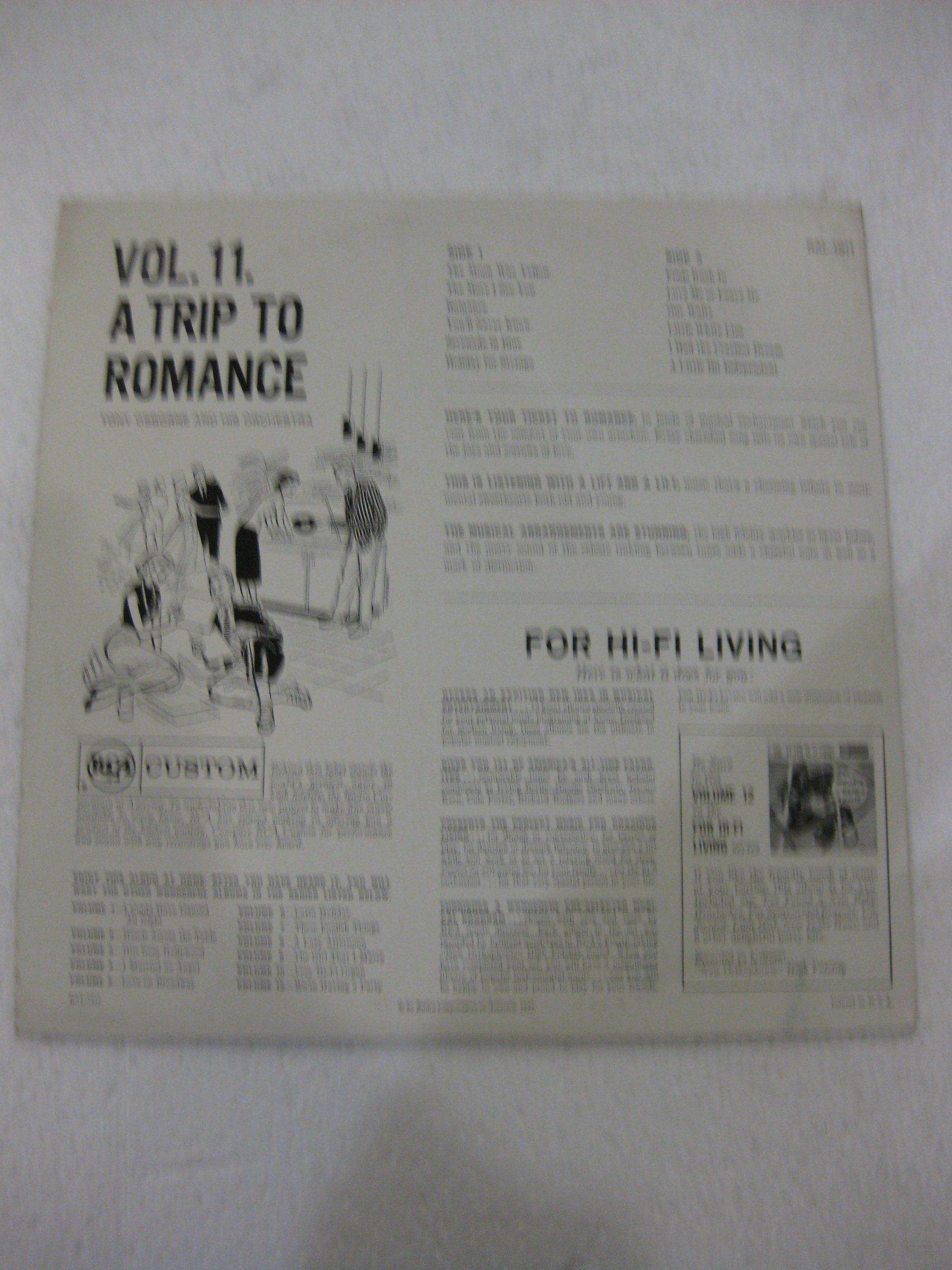 A Trip To Romance Tony Osborne And His Orchestra Vol. 11 For Hi-Fi Living