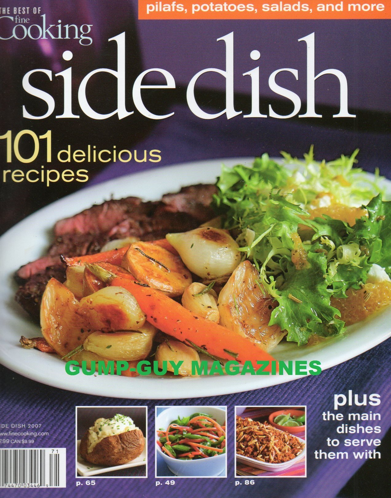 Download SIDE DISH 101 Delicious Recipes (The Best of Fine Cooking) PDF
