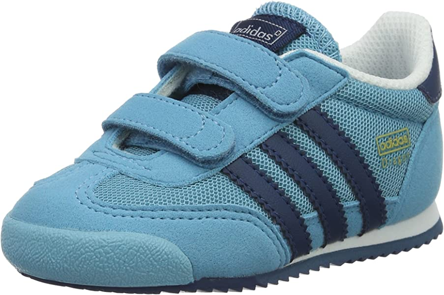 on sale d4b14 b94ef adidas Dragon Cf I, Sneakers basses mixte bébé, Bleu (Vapour Blue tech