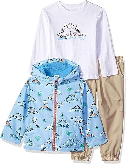 Little Me Boys Toddler Jacket Set