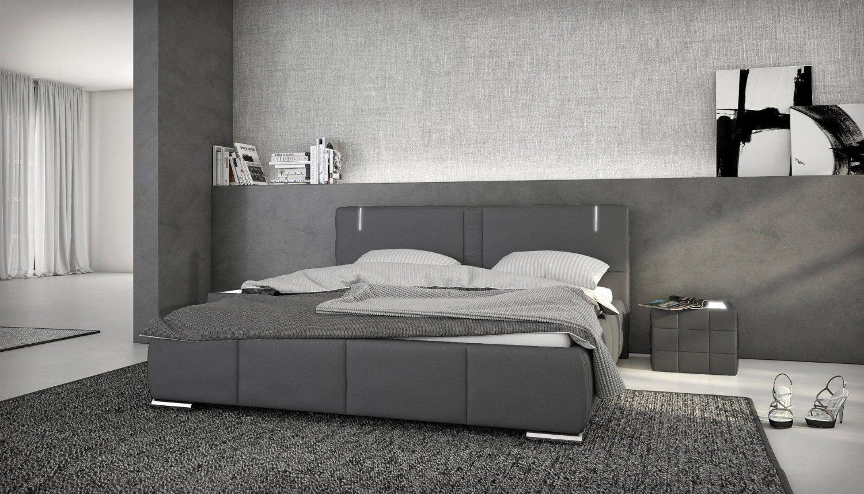 Designerbett Ricci 180x200 cm Doppelbett Futonbett Bett Polsterbett ...