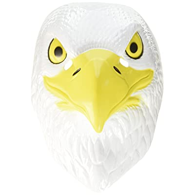 Forum Novelties Plastic Animal Am. Eagle Mask: Toys & Games