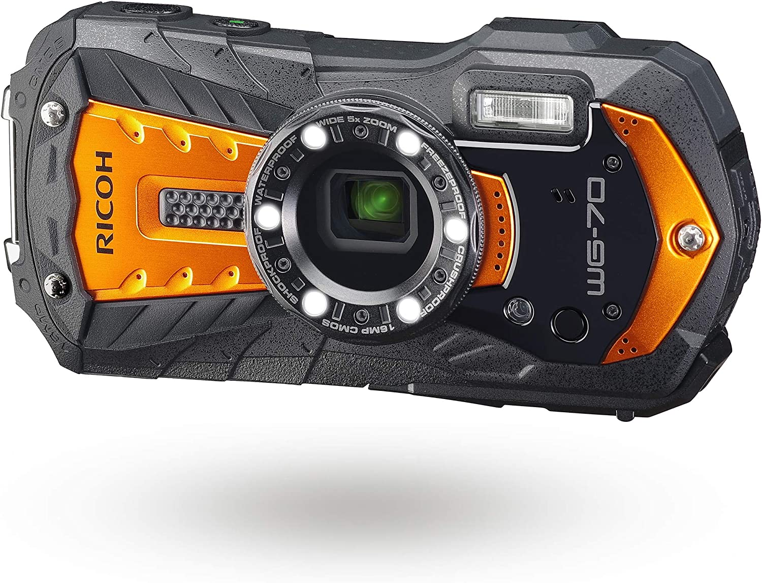 Amazon Opens Pre-Orders For RICOH WG-70 Waterproof Digital Camera