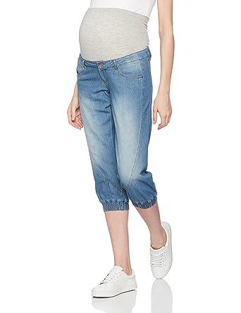 43d7c954c43c Mamalicious Women's Mlan Denim Knickers Maternity Jeans