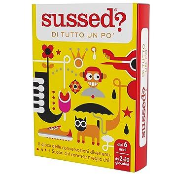 b5f863a273cd SUSSED DI TUTTO UN PO' (gioco delle conversazioni divertenti per tutta la  famiglia) (scopri chi conosce meglio chi): Amazon.it: Giochi e giocattoli