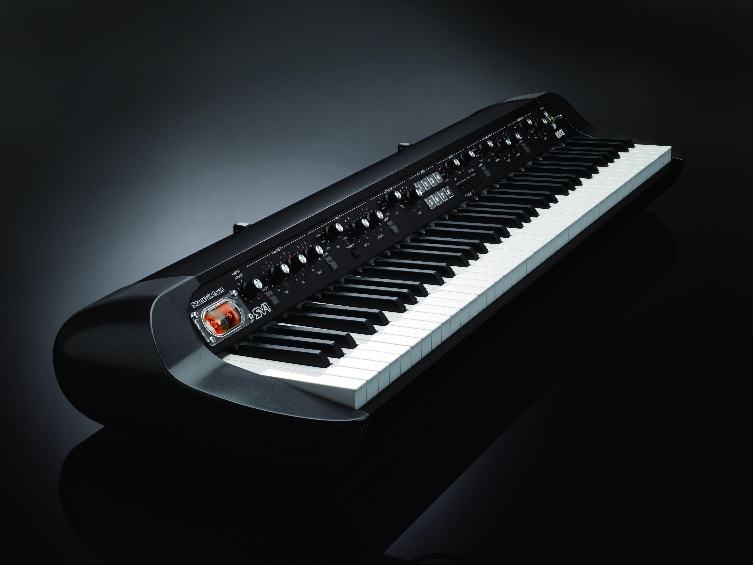 Korg SV-1BK 73-Key Stage Vintage Piano - Black by Korg