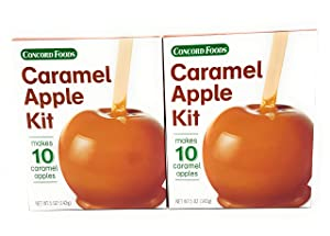 Concord Foods Caramel 10 Apple Kit 5oz (2 PACK)