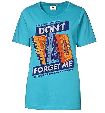 Bedrucktes Damen Musik Kassetten Tape T-Shirt Sweet Memories: Amazon.de:  Bekleidung