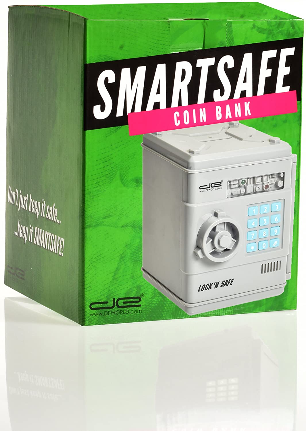 Amazon com: Intelligent Voice Mini Safe and Coin Vault for