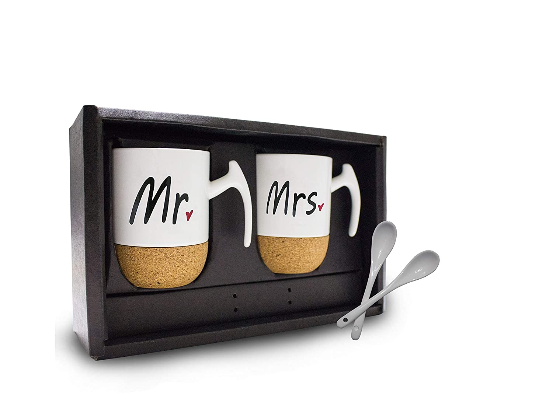 Mr & Mrs – Set Regalo Tazzine da Caffè (Coppia) Sayano