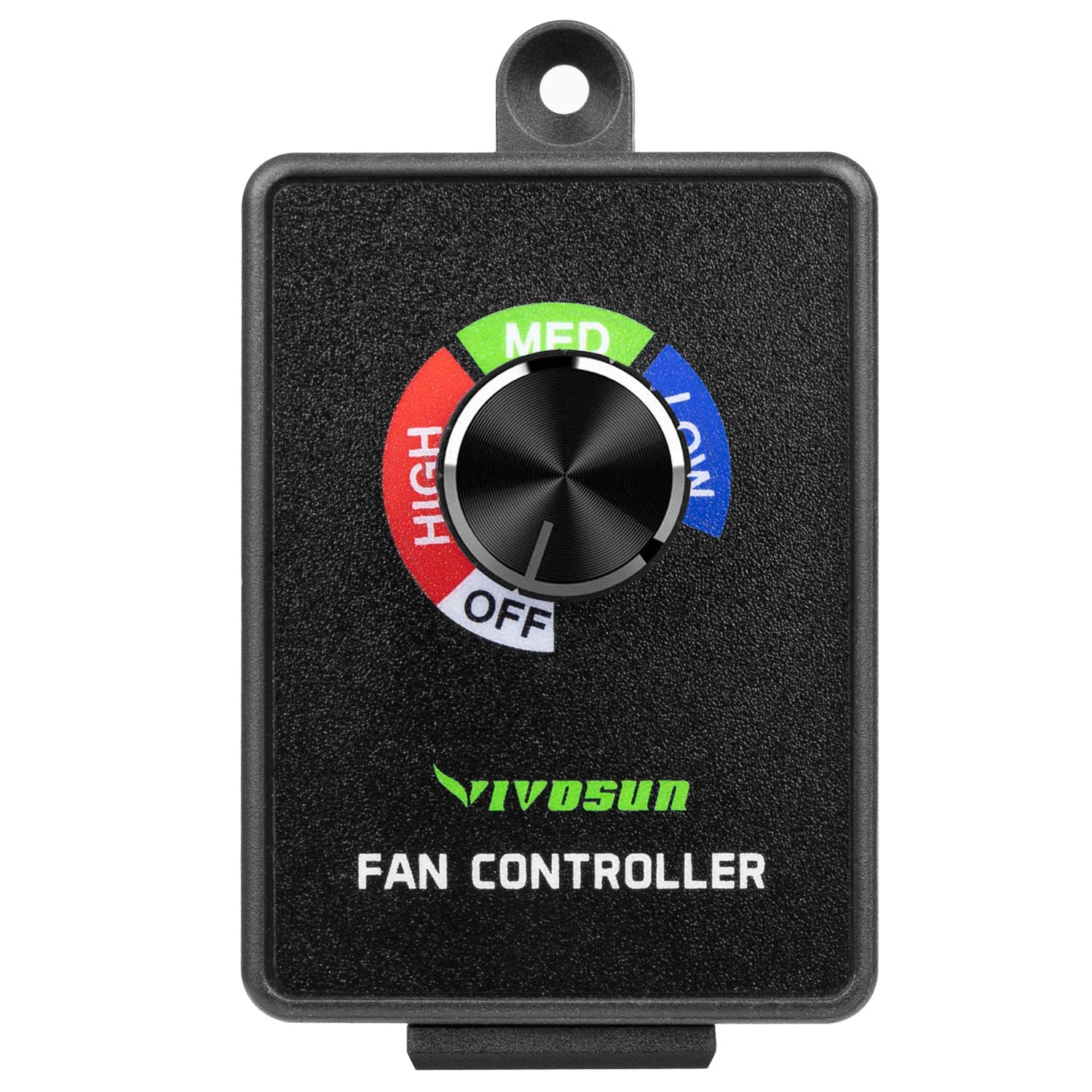 VIVOSUN Variable Speed Controller Cordless Vent Blower Speed Adjuster for Inline Duct Exhaust Fan