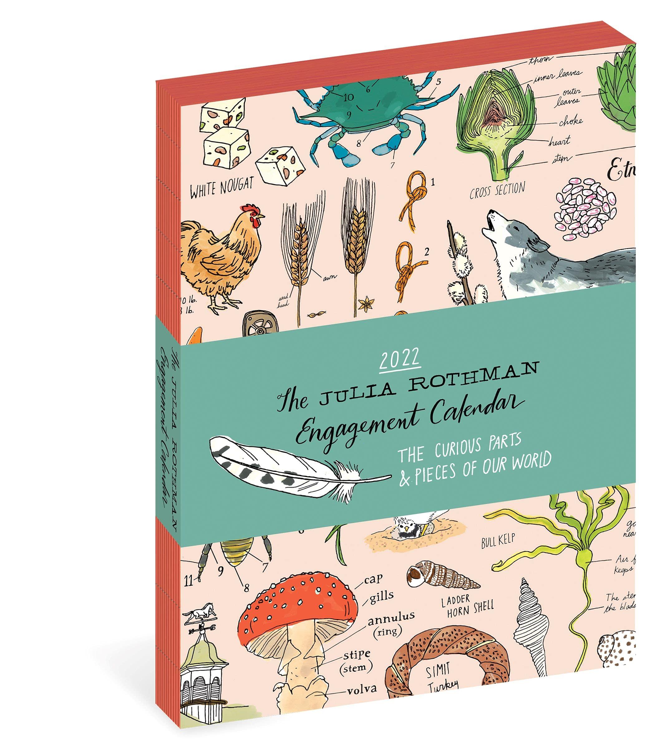 Image for Julia Rothman Farm, Food, Nature Engagement Calendar 2022