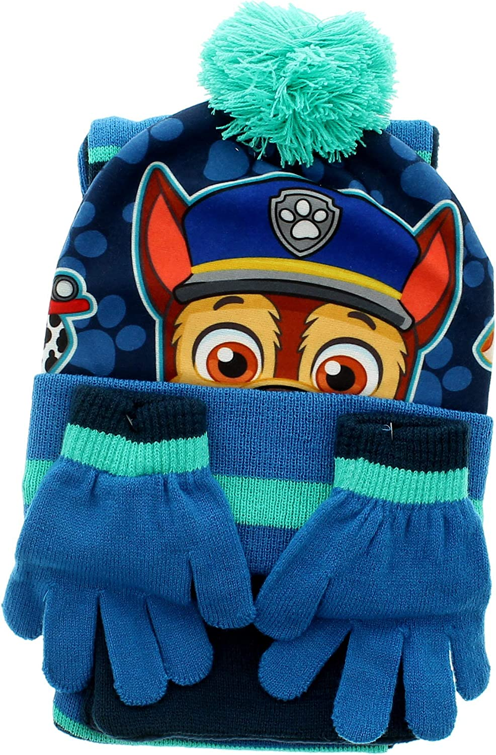 Avengers Boys Hat Scarf and Gloves Set