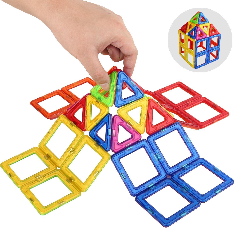 Amazon Camkey Magnetic Blocks Toys Building Tiles Stack Set