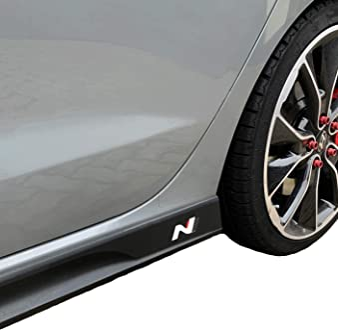 Styling Sto/ßstange Rallye 3M G12 Schwarz Glanz, Variante 2 Car Styling Decor Oracal 751C//3M 1080//Oracal 7510 Fluorescent Premium Motorhaube Dekor 2er Set Folien-Set Racing | Front
