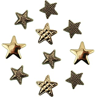 Buttons Galore Silver Stars 4110c Silver Star Christmas Dress It Up Buttons