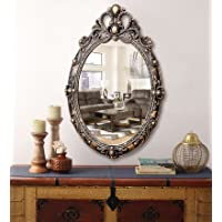 KURTZY Classic Antique Style Wall Mirror (Oval)