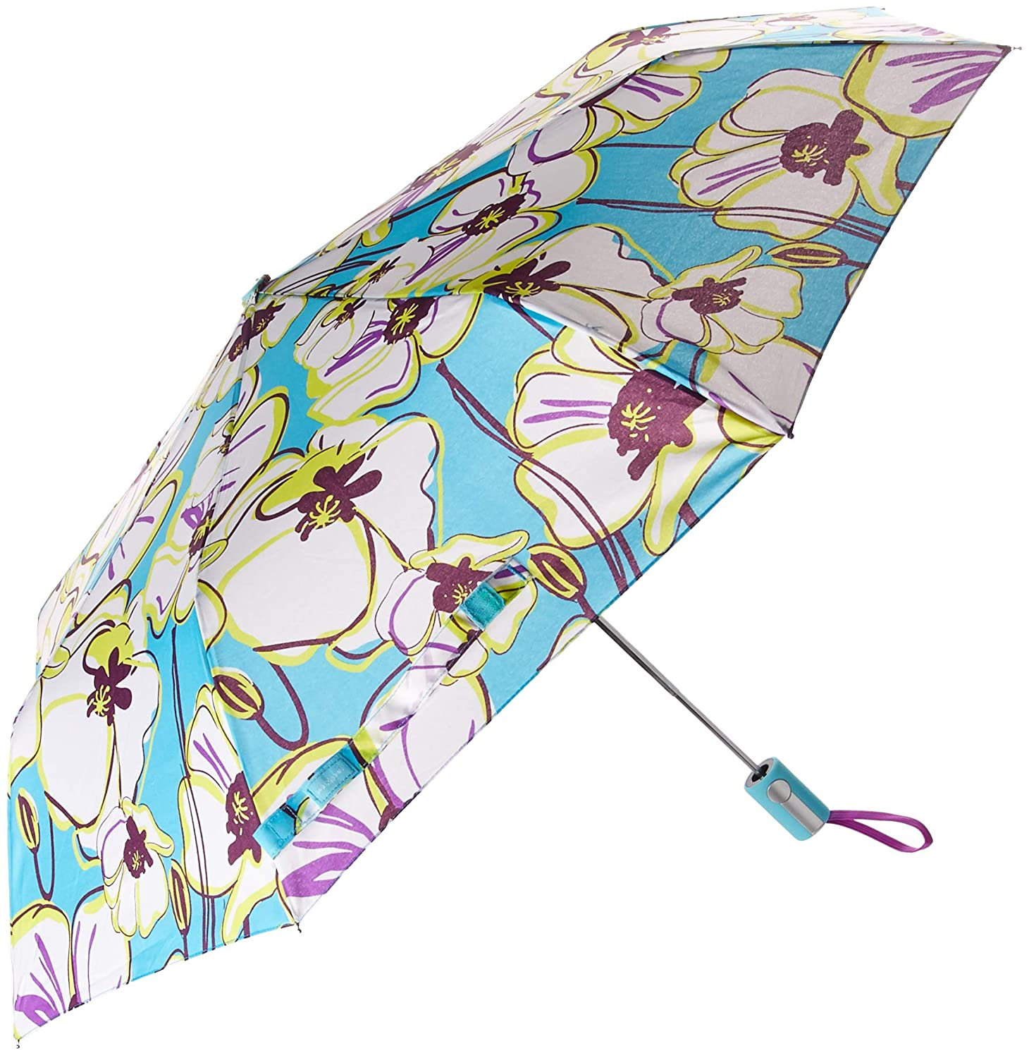 Sage & Emily Compact Umbrella, Palm Leaves DM Merchandising UMBSG-PLM