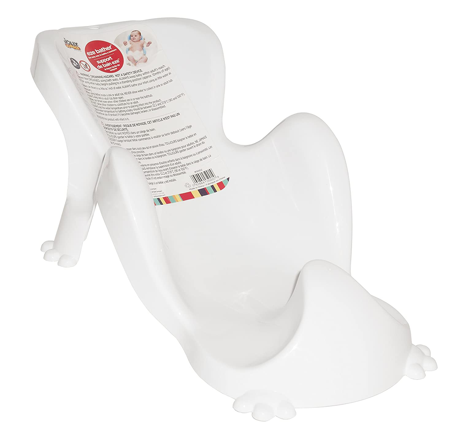 Jolly Jumper Eze Bathe White 5002