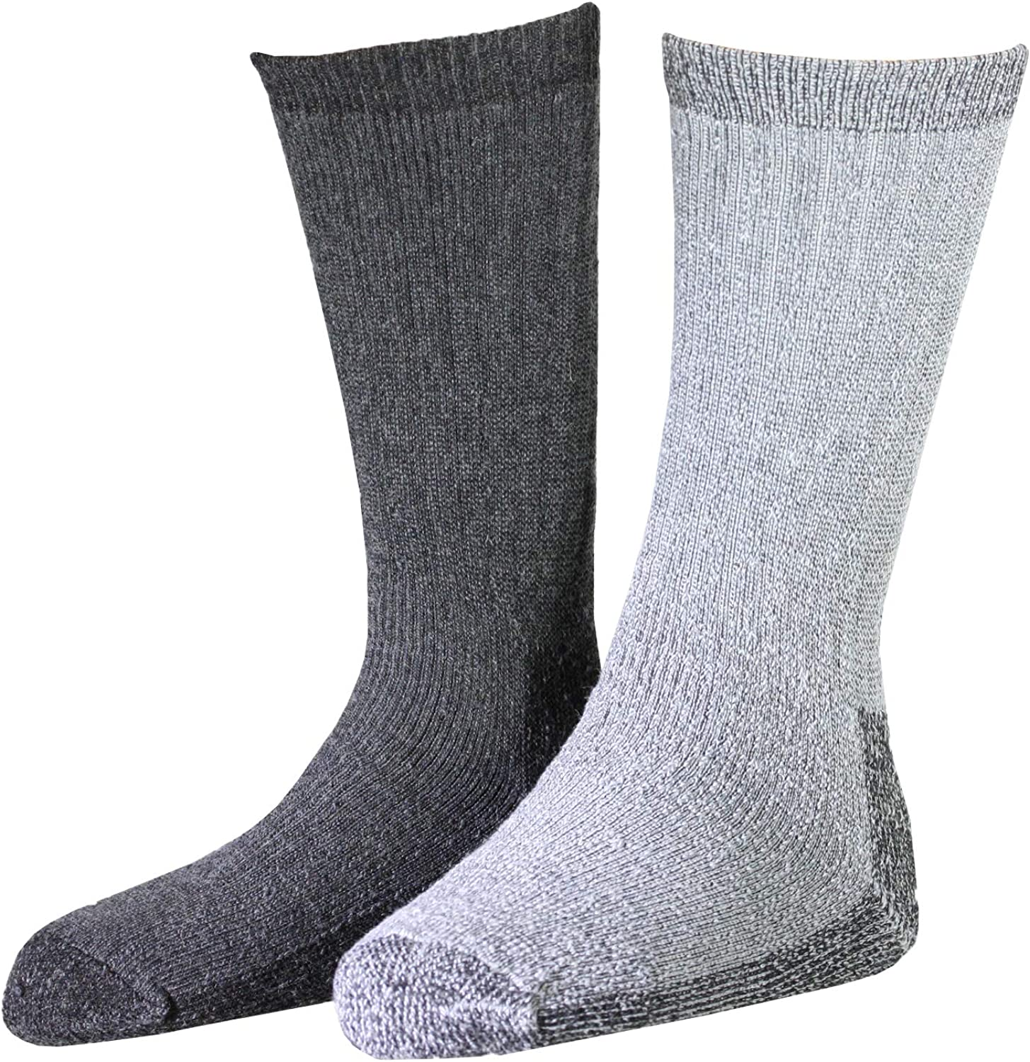 Woolrich Men's Ultimate Merino Wool Socks (2 Pr), Super Thick