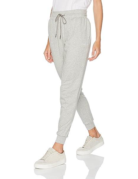 Calvin Klein Jogger, Pantalones para Mujer, Gris (Grey Heather 020), 34