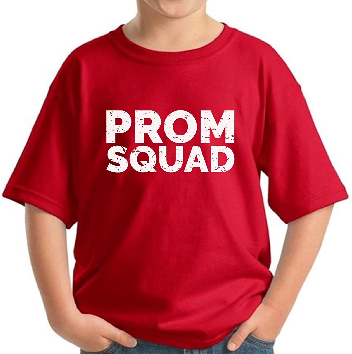 Pekatees Prom Squad Shirt Kids Prom Shirt Funny Prom Gifts for Boys and Girls