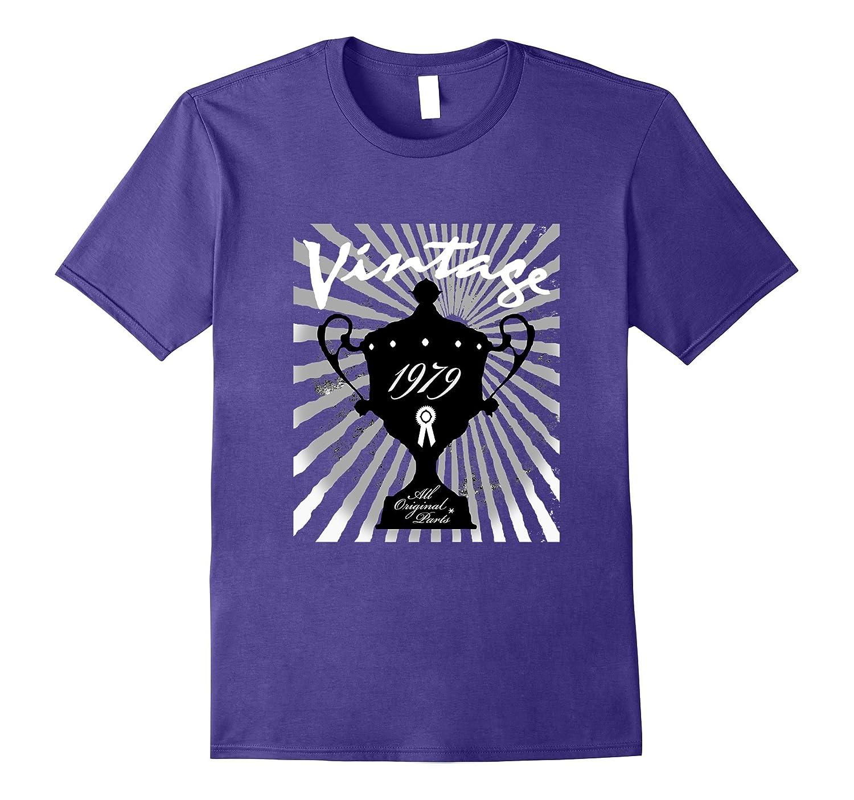 38th Happy Birthday T-Shirt Gift - 1979 Age 38 Vintage Tee-Vaci