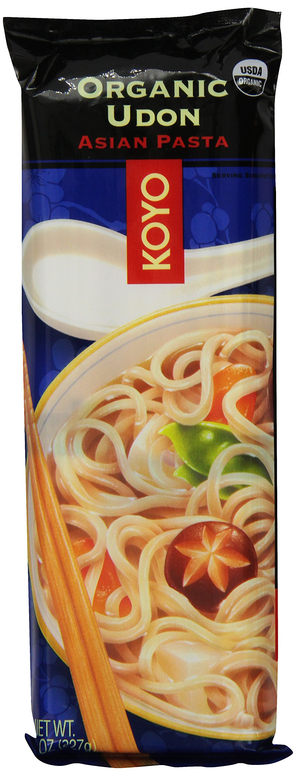 Koyo Noodles-udon, 8-Ounce Units (Pack of 12) by Koyo