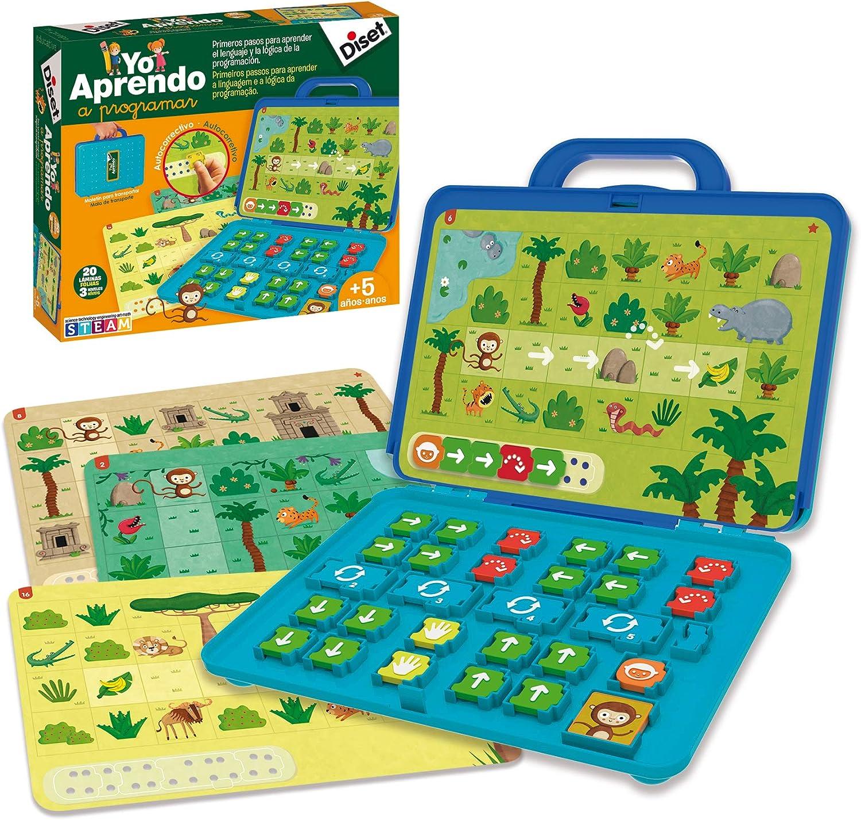 Diset - Yo aprendo a programar, (ref. 463786): Amazon.es: Juguetes y juegos