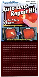 Amazon 3m 03441 1875 x 60 tailparking light repair tape auto lens tail light repair kit red aloadofball Image collections