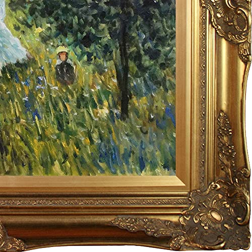 overstockArt Walking Near Argenteuil Oil Painting by Monet