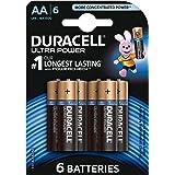 Duracell Ultra Power Piles Alcalines type AA, Lot de 6