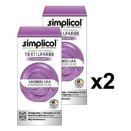 Lilla Per Colore Kit Intenso Tintura Simplicol Tessuti 5XqxPAwnO