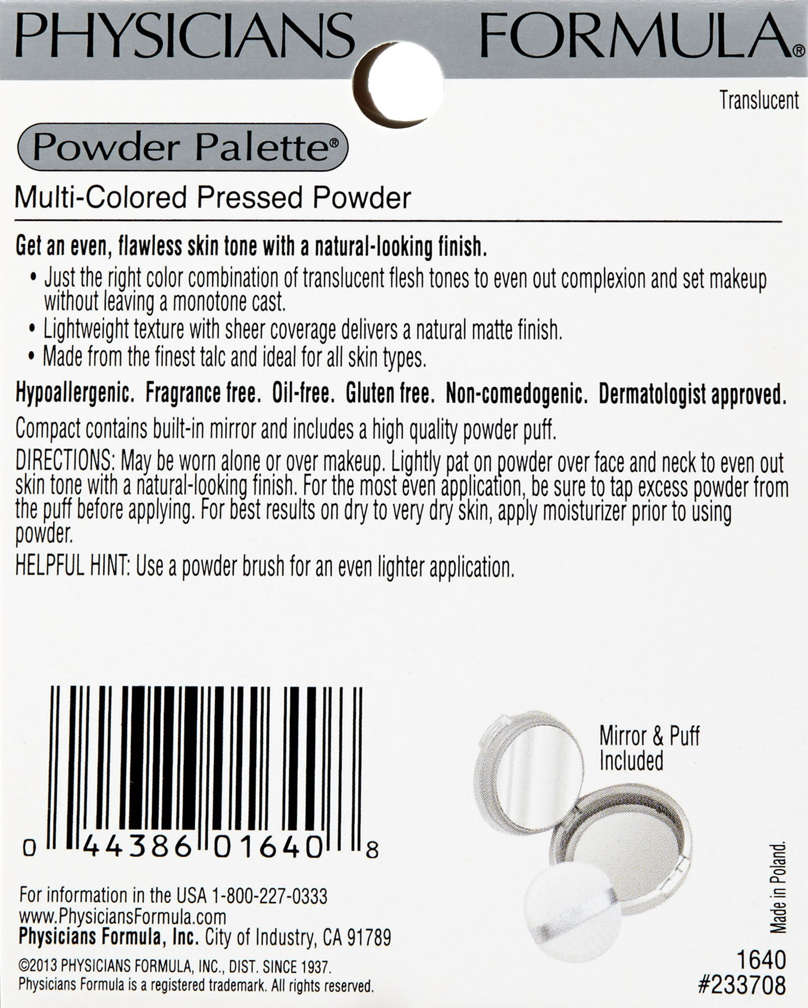 Physicians Formula Powder Palette Color Corrective Powders, Multi-colored Pressed Powder, Translucent, 0.3-Ounces by Physicians Formula (Image #3)