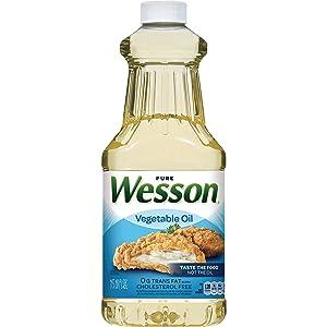 Wesson, Pure Vegetable Oil, 48 fl oz