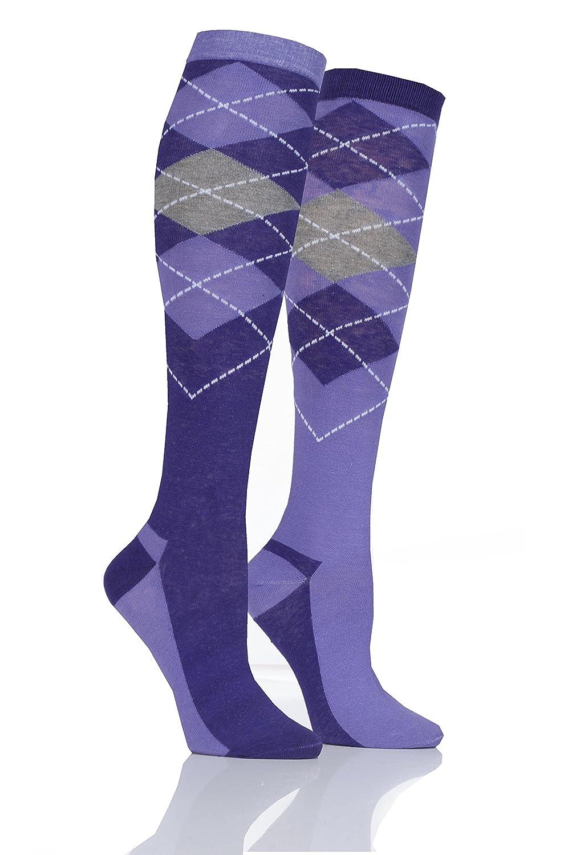Ladies 1 Pair Storm Bloc with BlueGuard Equestrian Long Cotton Socks